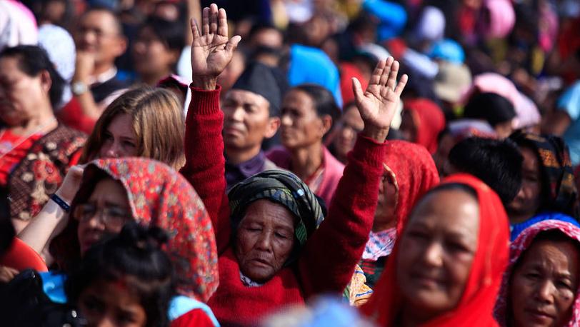 Пасха. Непал