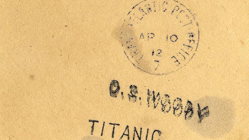 """Штамп почтового отделения """"Титаника"""""""