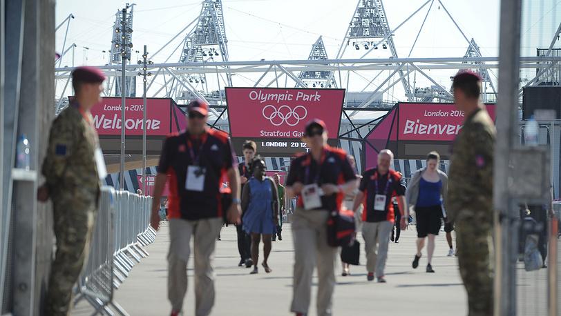 Вход на стадион Olimpic Park