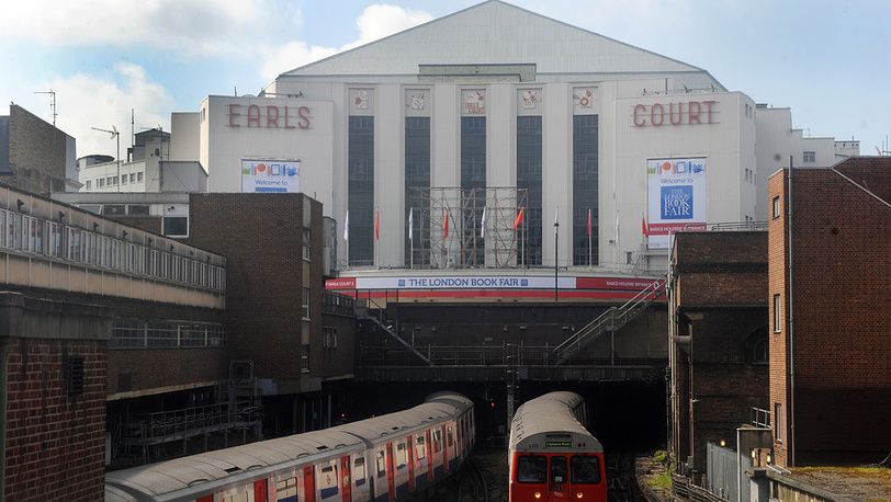 Волейболисты будут тренироваться в Earls Court