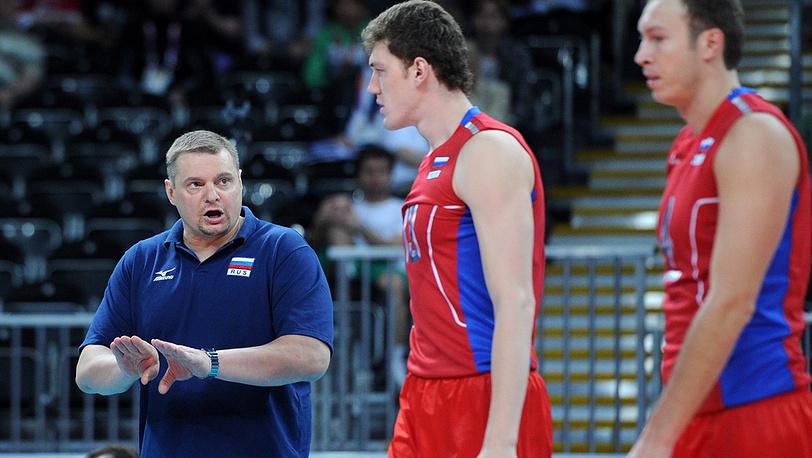 Главный тренер сборной России по волейболу Владимир Алекно