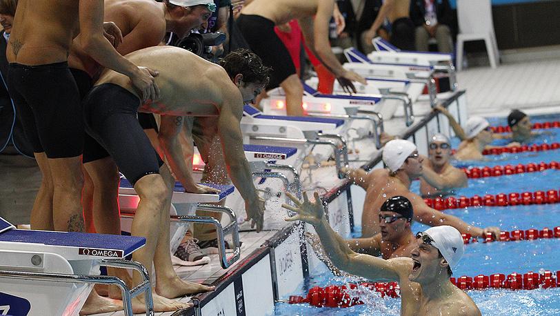 Французы триумфально победили американцев в эстафете 4х100 м