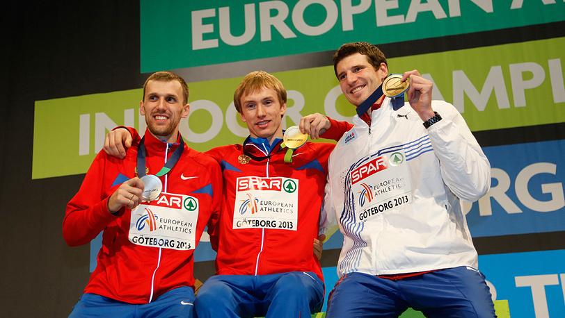 Алексей Дмитрик, Сергей Мудров и Ярослава Баба (Слева направо)