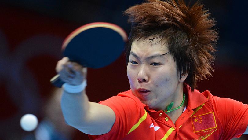 Китаянка Ли Сяося выиграла соревнования по настольному теннису в женском одиночном разряде