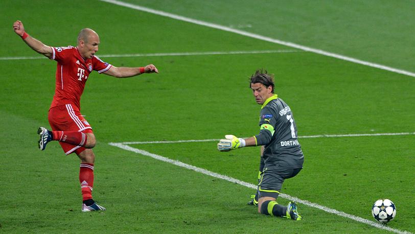 Победный гол голландского полузащитника Арьера Роббена