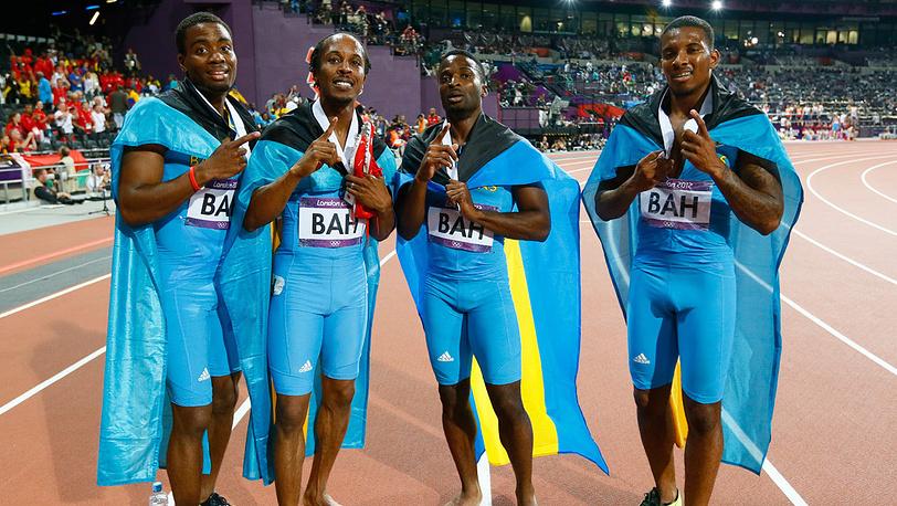 """Сборная Багамских островов (""""золото"""")"""