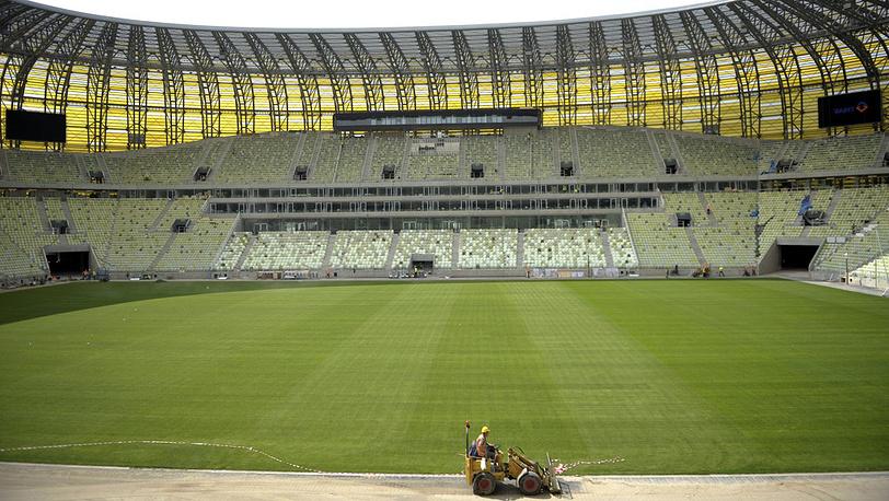Стадион Евро-2012 в Гданьске, Польша