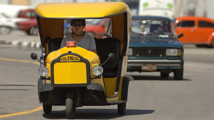 Так выглядит такси в Гаване