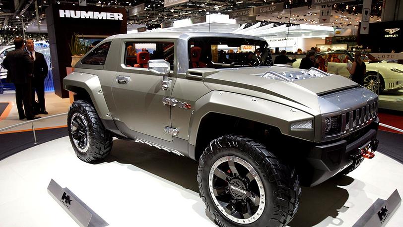 Cadillac Hummer Hx Concept