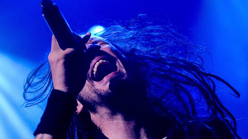 Вокалист группы Korn Джонатан Дэвис