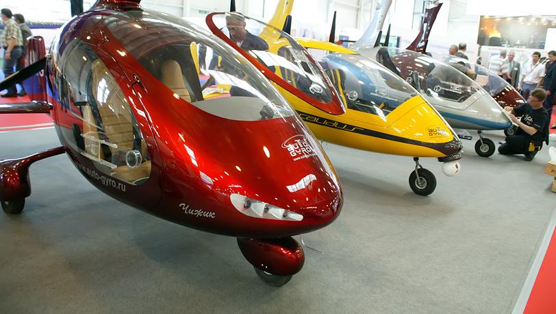 Гиропланы (автожиры) на выставке HeliRussia-2012