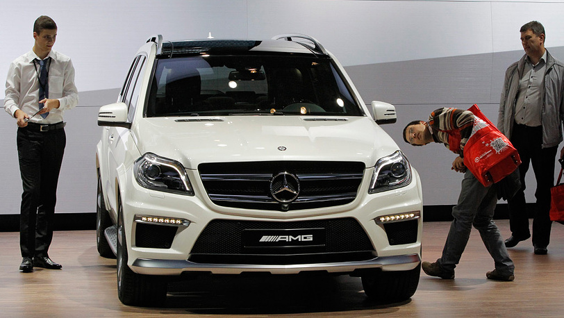 Mercedes benz GL 63 AMG