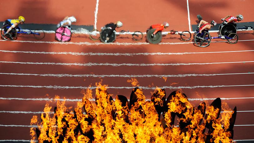 На Олимпийском стадионе
