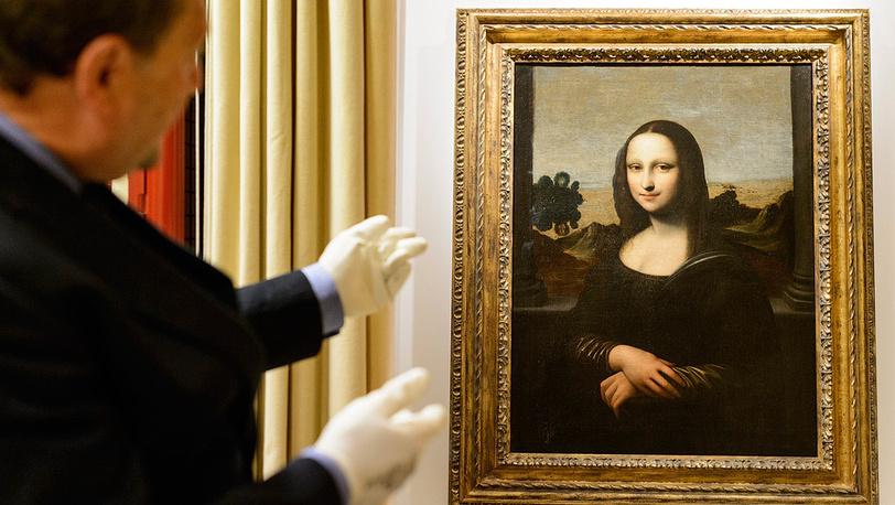 "Второй вариант картины ""Мона Лиза"" Леонардо да Винчи"