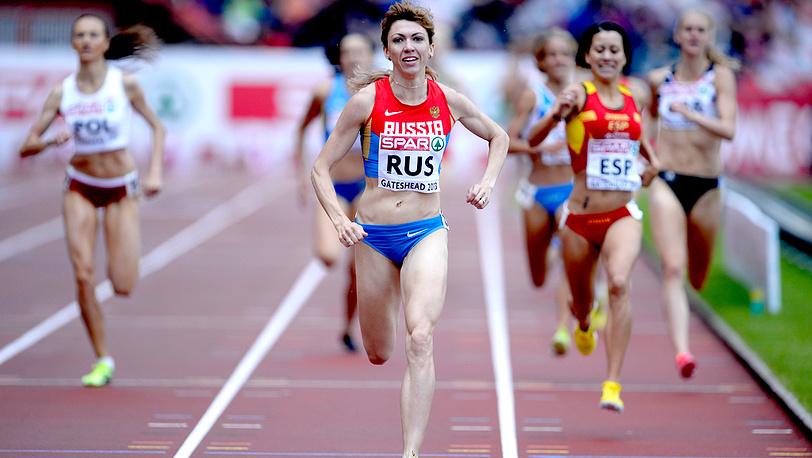 Екатерина Шармина - победа в забеге на 1500 метров