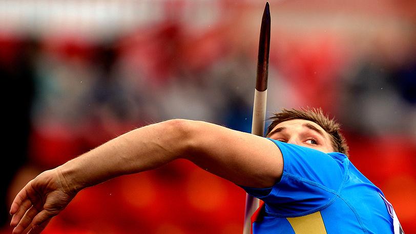 Дмитрий Тарабин - золото в метании копья