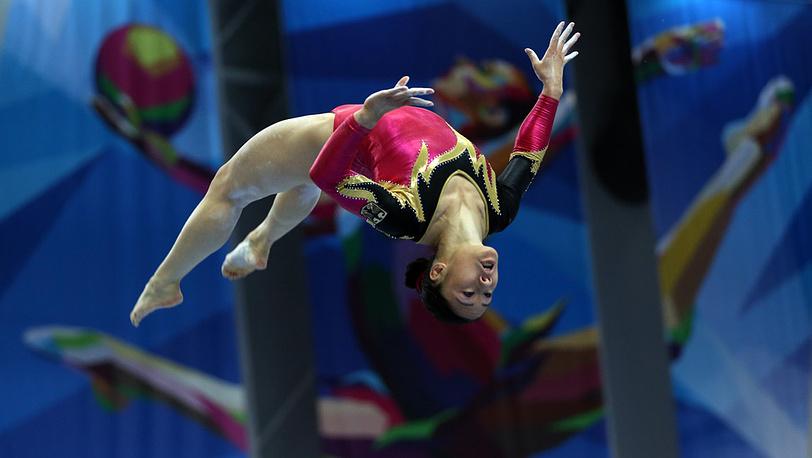 Немецкая спортсменка Ким Буи