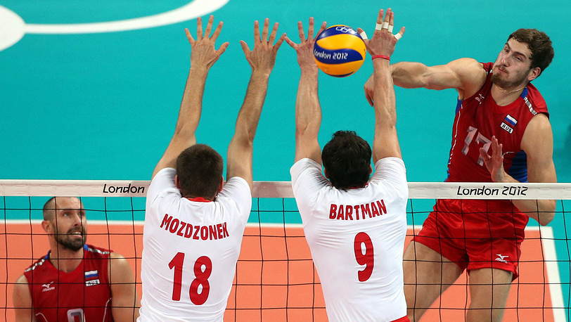 Сборная России по волейболу вышла в полуфинал