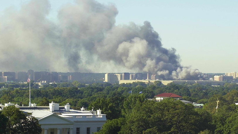 Вид на Пентагон (справа)