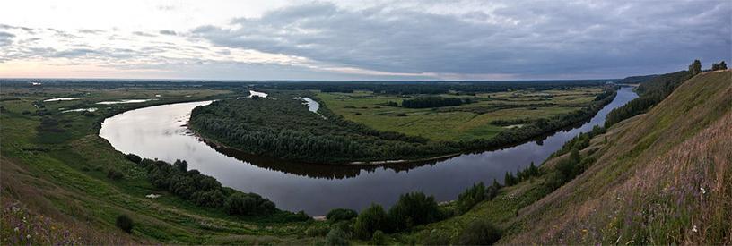 Венец. Река Клязьма. Владимирская обл