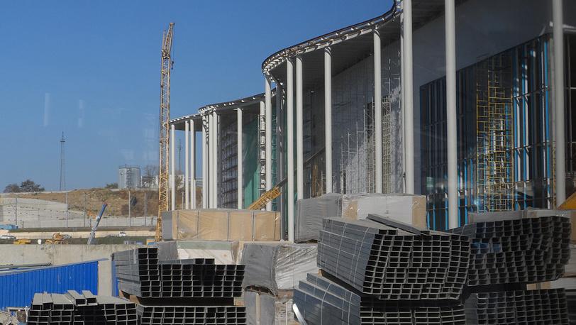 Строительство главного пресс-центра Олимпиады