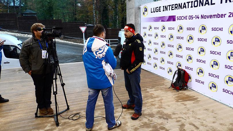 Трехкратный олимпийский чемпион, десятикратный чемпион мира по санному спорту Георг Хакль