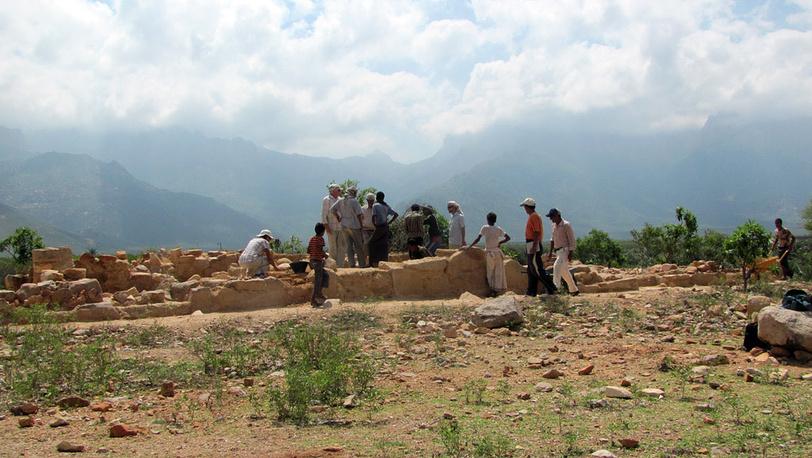 Раскопки на Сокотре
