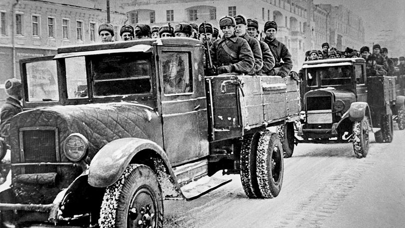 На фронт, 1941 год