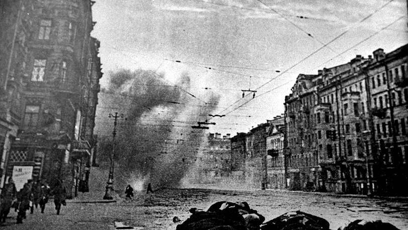 Артобстрел Ленинграда, 1941 год