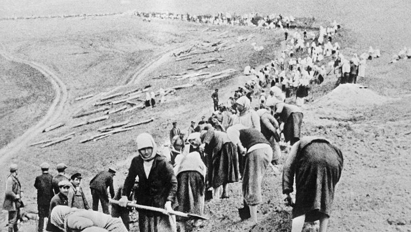Строительство оборонительных сооружений, 1941 год