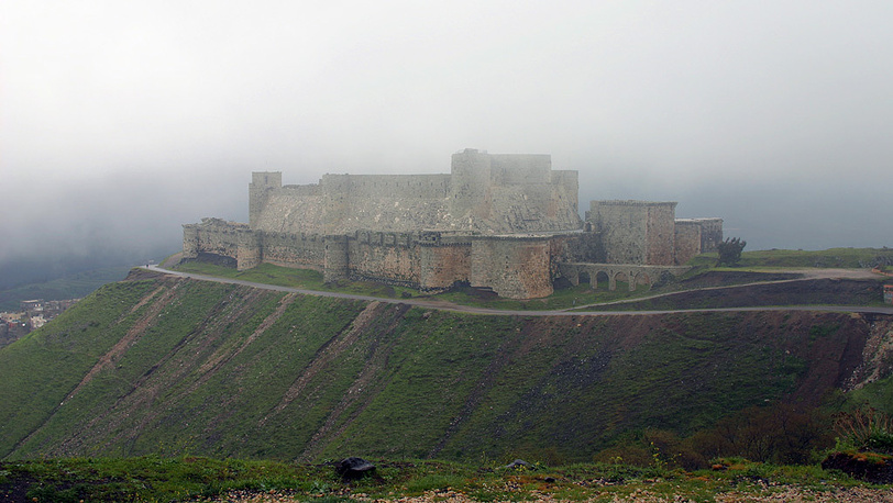 Замок Крак де Шевалье. Фото ИТАР-ТАСС/Наталья Шевченко