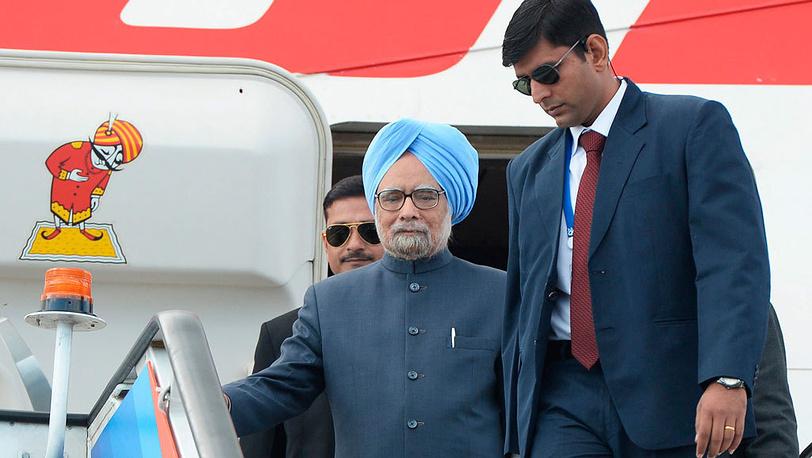 Премьер-министр Индии Манмохан Сингх. Фото EPA/ALEXEY MAISHEV / POOL