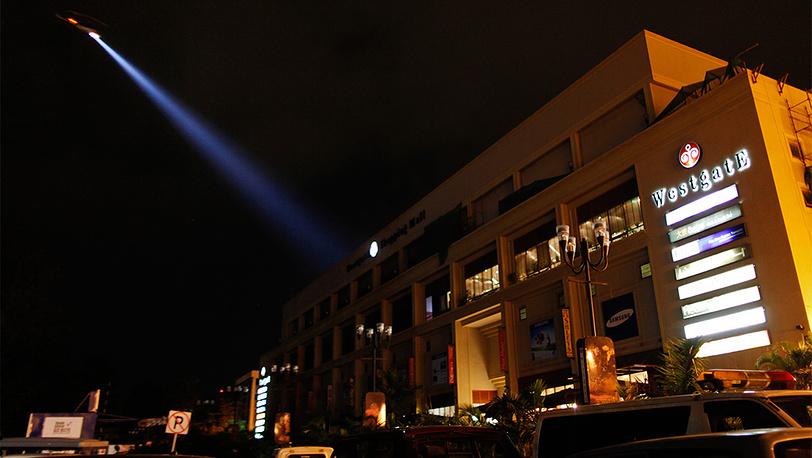 "Торговый центр ""Уэстгейт"", захваченный террористами. Фото EPA/DAI KUROKAWA"