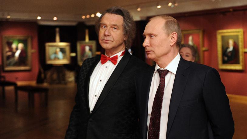 А.Шилов и В.Путин. 2013. Фото ИТАР-ТАСС/Алексей Никольский