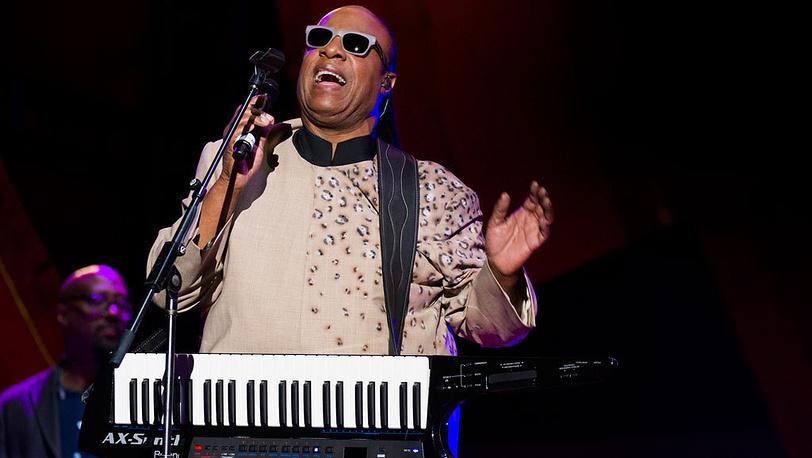 Стиви Уандер, соул-певец и композитор. Фото AP/Invision/Charles Sykes