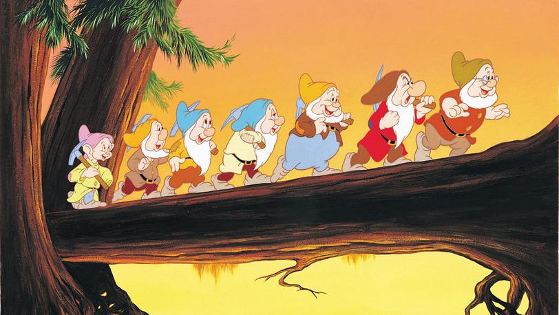 """Кадр из м/ф """"Белоснежка и семь гномов"""". 1937 год. Пресс-служба Disney"""