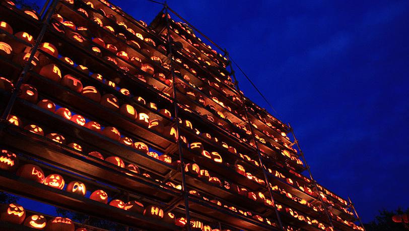 Ежегодный фестиваль тыкв в США. Фото flickr.com/ David Smith