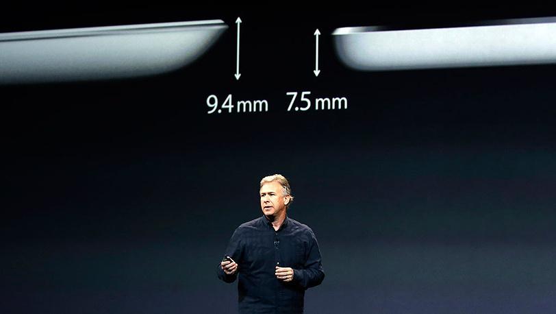 Вице-президент Apple по маркетингу Фил Шиллер на презентации iPad Air в Сан-Франциско.Фото AP Photo/Marcio Jose Sanchez
