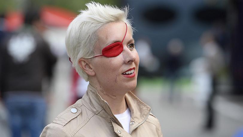 Мария де Вильота  во время Гран-При Испании в Барселоне, май 2013. Фото AP