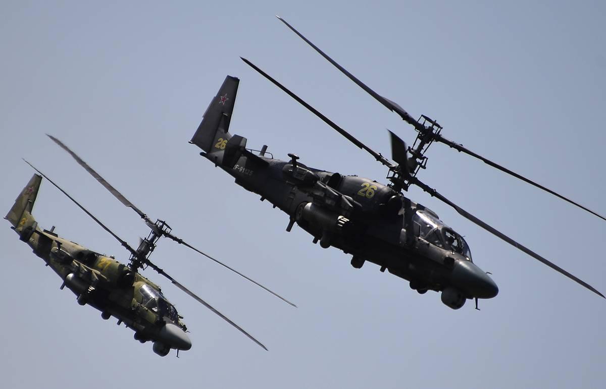 Источник: Египет купил у РФ 50 вертолетов Ка-52 и может получить их в палубном варианте