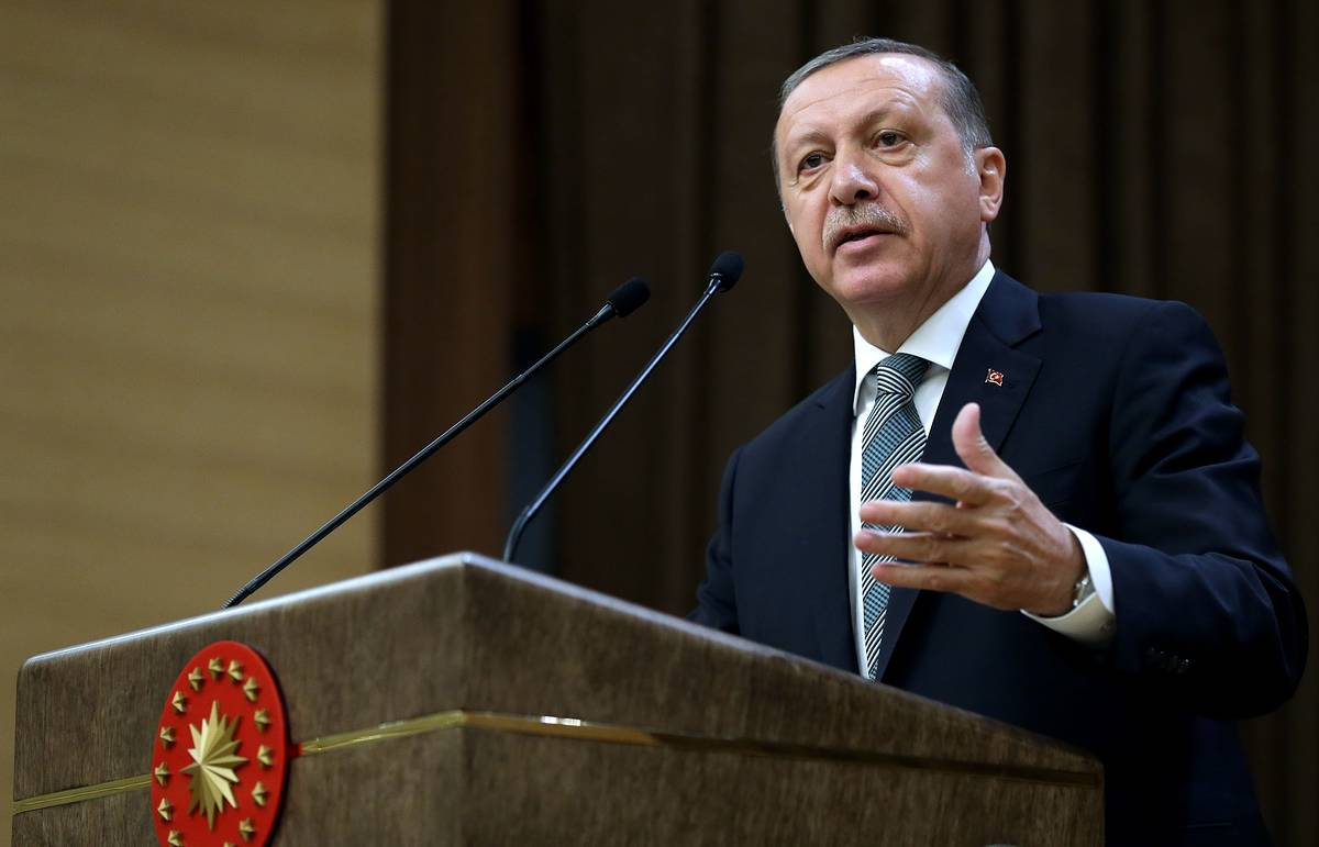 Эрдоган раскритиковал условия, выдвигаемые ЕС для отмены виз