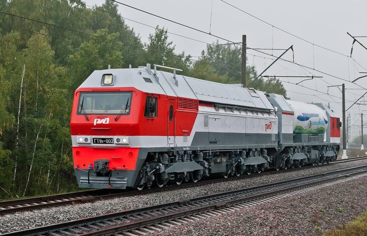 Первый серийный российский газотурбовоз успешно завершил экспериментальную поездку
