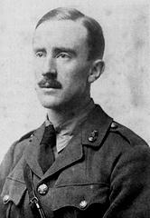 Лейтенант Толкин в 1916 году