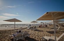 """Пляж города Янтарный - единственный на данный момент в России, имеющий знак отличия """"Голубой флаг"""""""