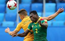 Эпизод матча Камерун - Австралия