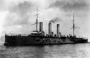 """Крейсер """"Аврора"""". 1917 год"""