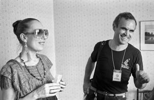 Панфилов и Чурикова. Москва, 1987 год