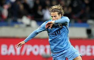 Лучший футболист ЧМ-2010 Диего Форлан