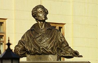 Памятник Пушкину в Алма-Ате