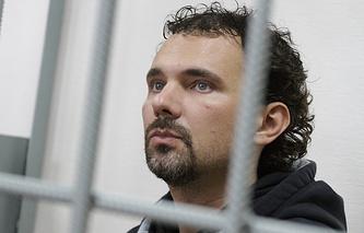 Дмитрий Лошагин в зале суда